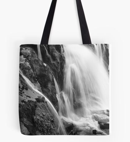 Erosion in Action: Loup of Fintry Waterfall Tote Bag