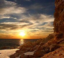 Sunset at Point Dume by Amos Zhang