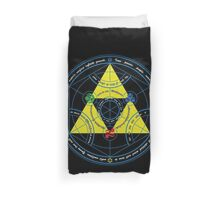 Transmutation of Time Duvet Cover