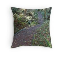 """Back Country Hike"" Throw Pillow"