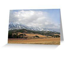 """Beautiful Montana"" Greeting Card"