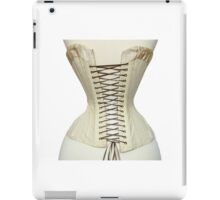 Antique Corset from the 19th Century iPad Case/Skin