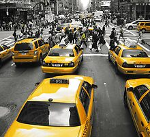 NYC Taxi by Josh Guest