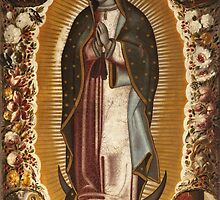 Manuel de Arellano - Virgin of Guadalupe (Virgen de Guadalupe) by Adam Asar