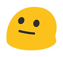 Neutral Face Google Hangouts / Android Emoji by emoji