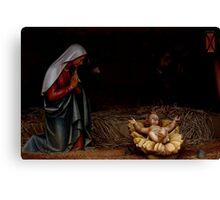 Mary & Jesus Canvas Print
