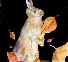 Autumn Rabbit by andrewgillette