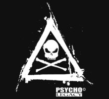 PSYCHO LEGACY T- SHIRT 10 by Gavin  North