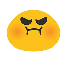 Pouting Face Google Hangouts / Android Emoji by emoji