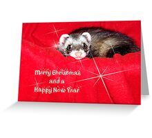Miley Christmas and a Happy New Year! Greeting Card
