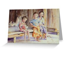 The Grandchildren Greeting Card