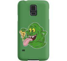 Slimer eating pizza Samsung Galaxy Case/Skin