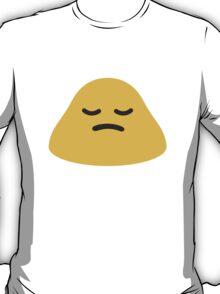 Person Frowning Google Hangouts / Android Emoji T-Shirt