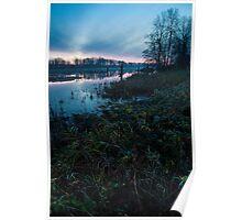 Fraser River Morning Poster