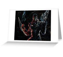 Mass Effect Shepard Greeting Card