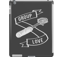 Group Love - White and Grey Edition iPad Case/Skin