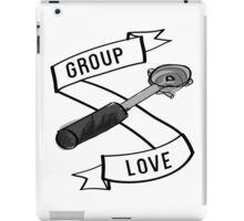 Group Love - Black and White Edition iPad Case/Skin