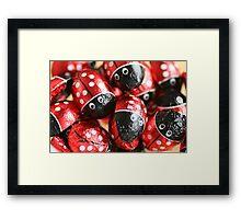 Red Wrapper Framed Print
