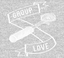 Group Love - White and Grey Edition Kids Clothes