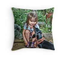 Getting to Know You Throw Pillow