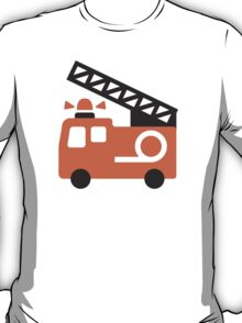 Fire Engine Google Hangouts / Android Emoji T-Shirt