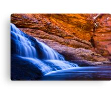 Garden of Eden Waterfall Canvas Print