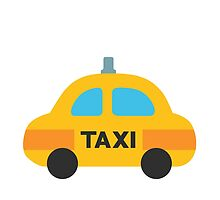 Taxi Google Hangouts / Android Emoji by emoji