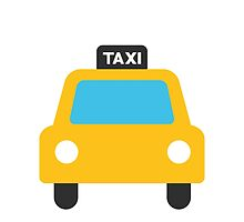 Oncoming Taxi Google Hangouts / Android Emoji by emoji