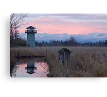 Tennant Lake Lookout Tower Canvas Print