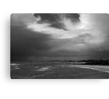 Stormy Melbourne Canvas Print