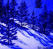 Winter Blues by Ruth Kauffman