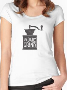 THE DAILY GRIND Women's Fitted Scoop T-Shirt