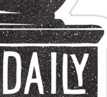 THE DAILY GRIND Sticker