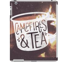 CAMPFIRES & TEA iPad Case/Skin