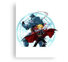 Fullmetal Alchemist Brotherhood Canvas Print
