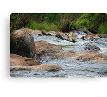 Boulder Cascades - Manning River NSW Canvas Print
