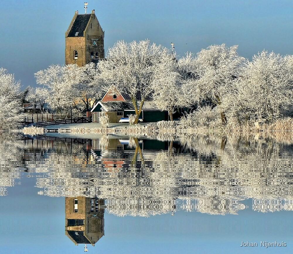 NATURES WINTER MIRROR # 2 by Johan  Nijenhuis