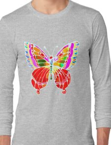 BUTTERFLY FOR YOU Long Sleeve T-Shirt