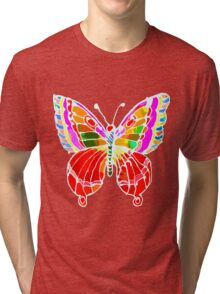 BUTTERFLY FOR YOU Tri-blend T-Shirt