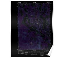 Maine USGS Historical Map Westfield 20110909 TM Inversion Poster