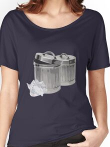 Trash Cans Women's Relaxed Fit T-Shirt