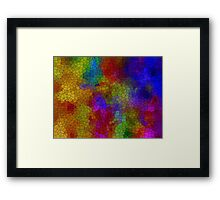Background 30 Framed Print