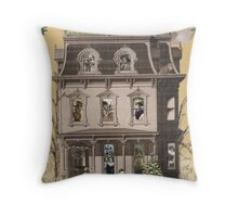 Enchanted Holiday House Throw Pillow