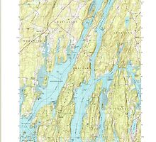 Maine USGS Historical Map Westport 103106 2000 24000 by wetdryvac