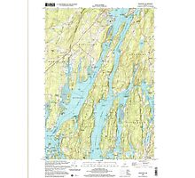 Maine USGS Historical Map Westport 103106 2000 24000 Photographic Print