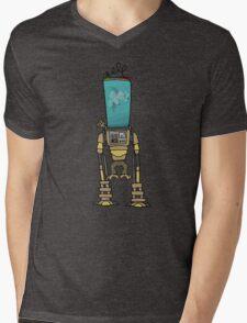 Monkey  Robot Experiment Mens V-Neck T-Shirt