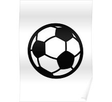 Soccer Ball Google Hangouts / Android Emoji Poster
