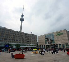 Berlin - Alexanderplatz by mmarco1954