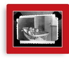 My first doll Mimi and me Canvas Print