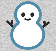Snowman Without Snow Google Hangouts / Android Emoji Kids Clothes